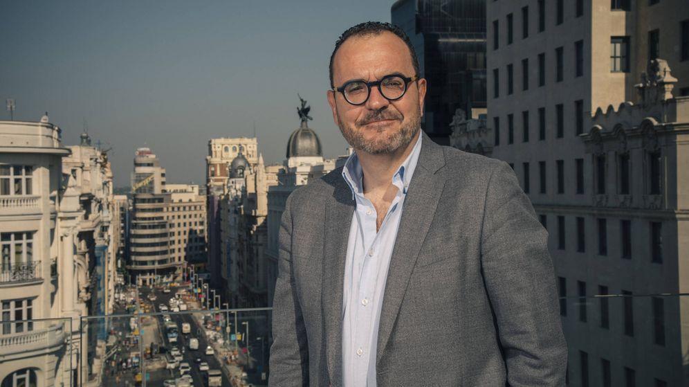 Foto: El periodista Juan Pablo Colmenarejo, nuevo locutor de Onda Madrid.
