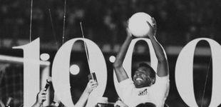 Post de El desconocido gol de Pelé que paralizó Brasil (fuese o no su gol número 1.000)