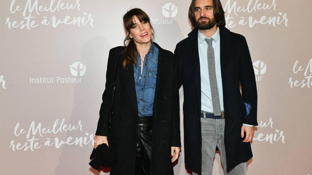 Foto: Carlota Casiraghi y Dimitri Rassam, en el estreno de la película 'Lo mejor está por llegar'. (Cordon Press)