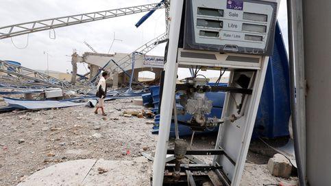 Ataque aéreo sobre una gasolinera en Yemen