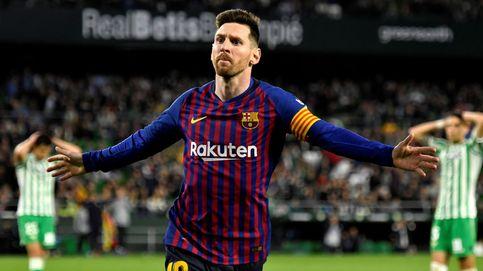 Betis - Barcelona | Cuando a Messi le aplaude el rival... y a Luis Suárez se le ve su tozudez