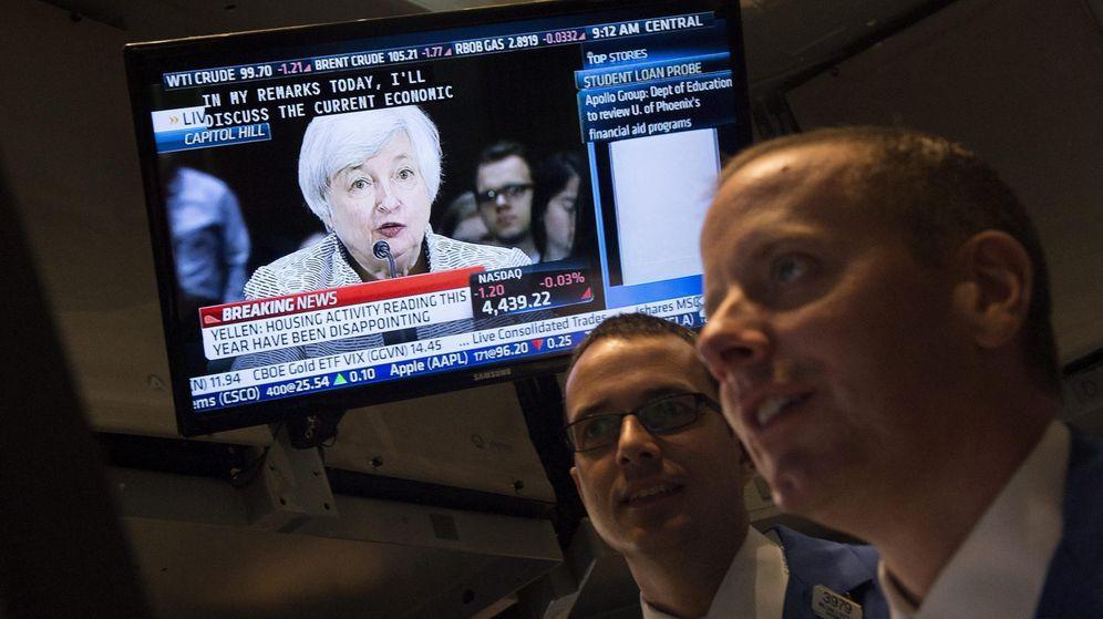 Foto: Comparecencia de Janet Yellen tras reunión de la Fed. (EFE)