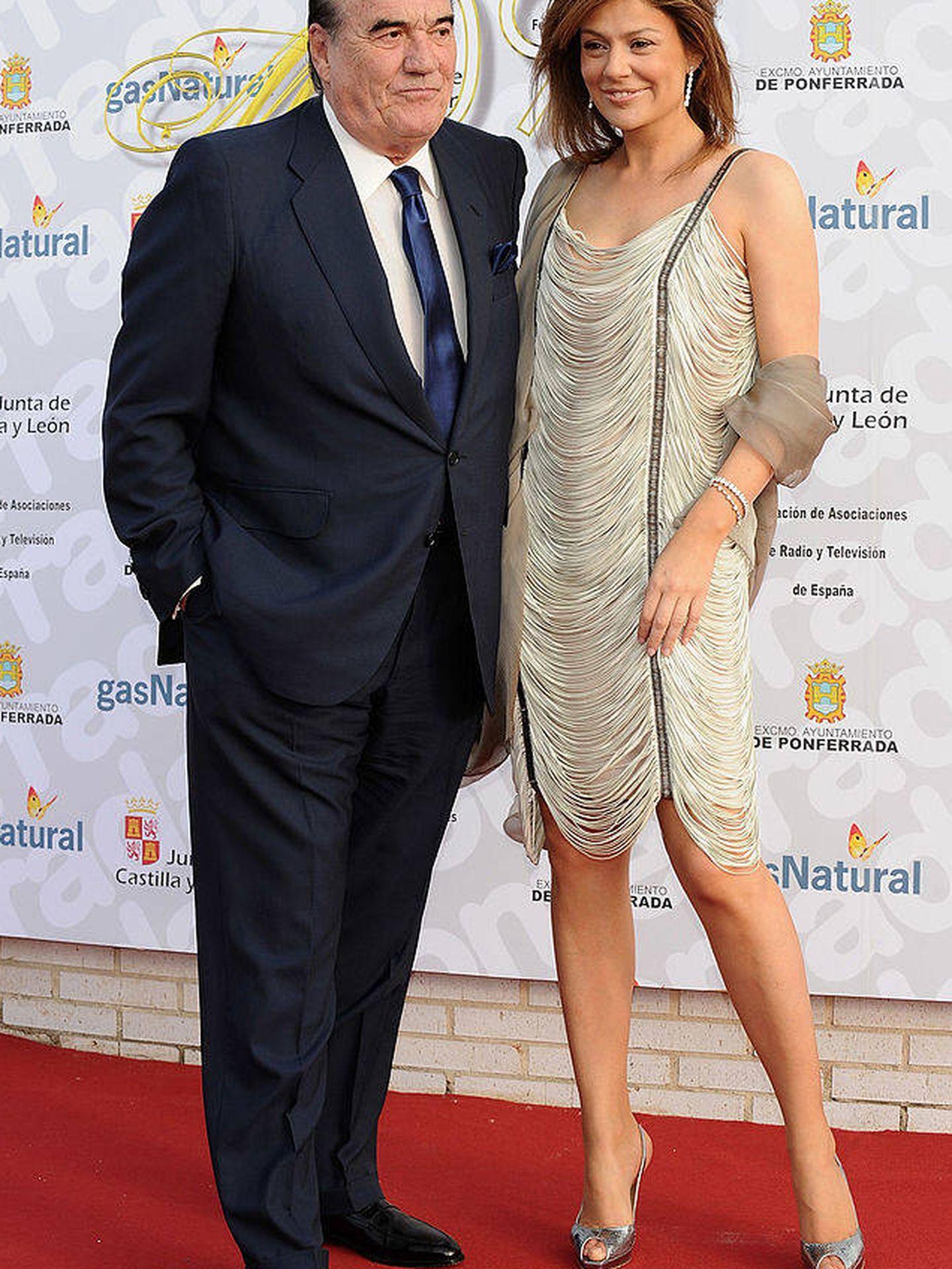 Fernández Tapias y Nuria González. (Getty)