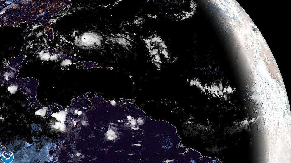Foto: Fotografía del huracán Dorian tomada por el Centro Nacional de Huracanes. (EFE)