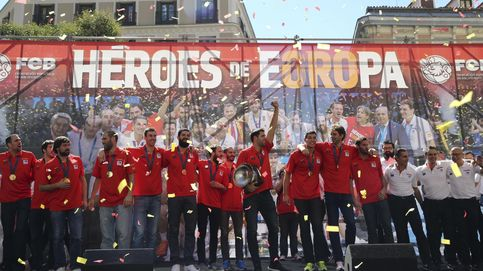 Las mejores imágenes de la celebración del EuroBasket