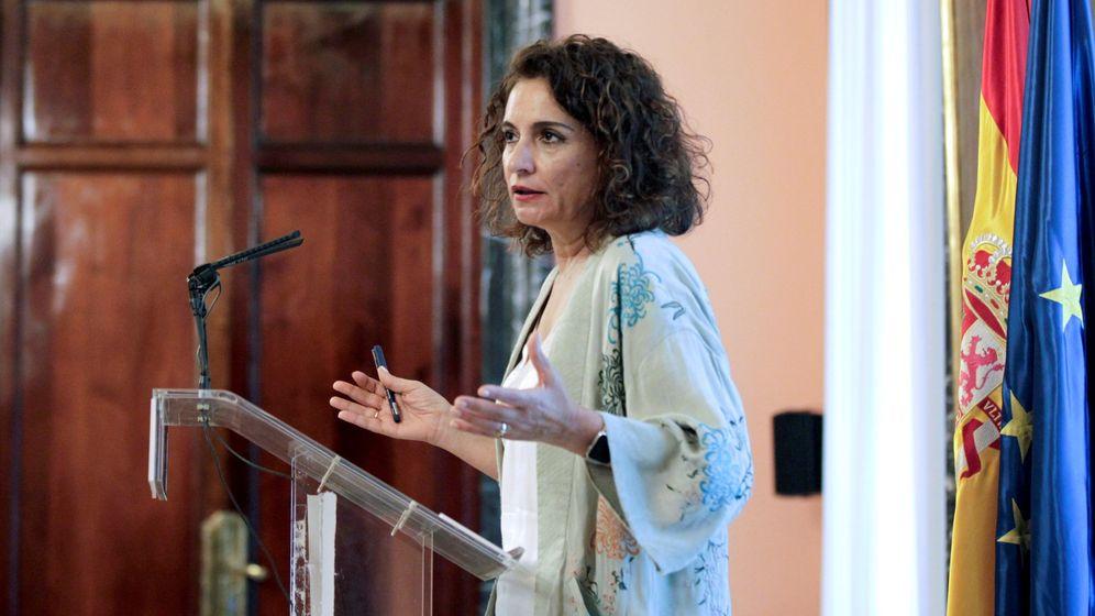 Foto: La ministra de Hacienda, María Jesús Montero, en un acto en Madrid. (EFE)