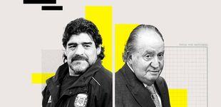 Post de Juan Carlos I fue accionista del Ibex vía Suiza y la muerte del mito Maradona