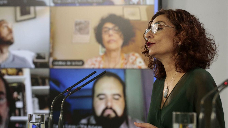 Montero propone condicionar el primer reparto a las hospitalizaciones y las UCIs