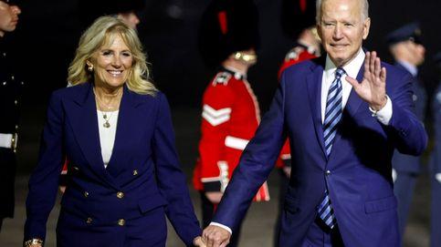 Jill Biden, discreta y en segunda línea con sus primeros looks en Europa