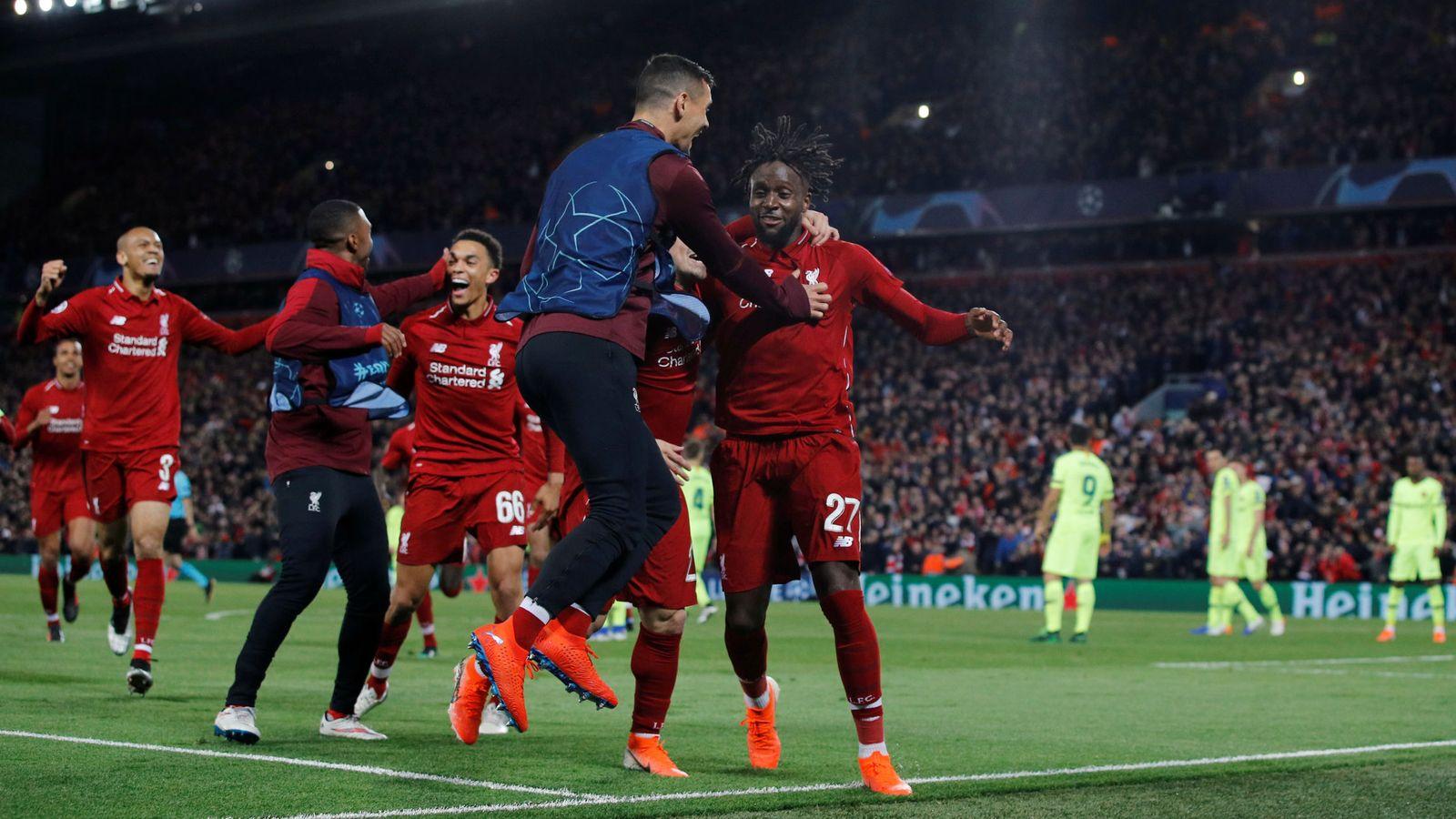Foto: Champions league semi final second leg - liverpool v fc barcelona