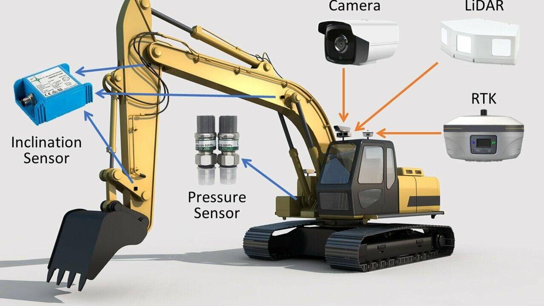 Lleva varios sensores para planificar y controlar el trabajo. (Baidu)