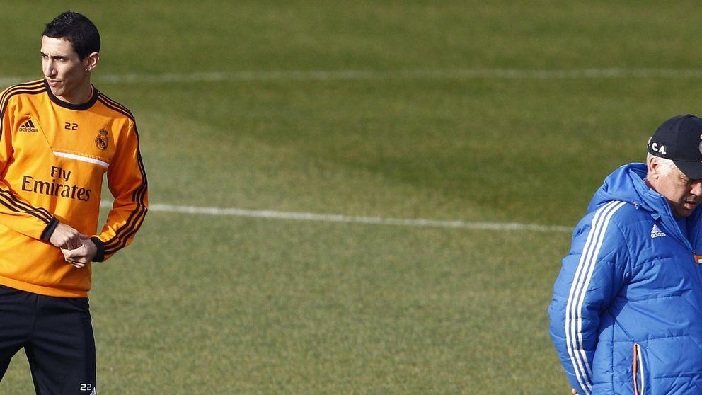 Ancelotti: Di María ha pedido irse, pero no será problema si continúa
