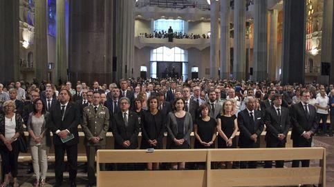 Los Reyes asisten a la misa en homenaje a las víctimas del atentado