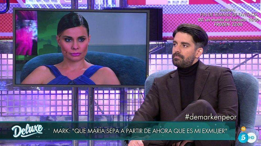 Foto: Mark, el marido todavía de María Lapiedra, en 'Sábado Deluxe'.