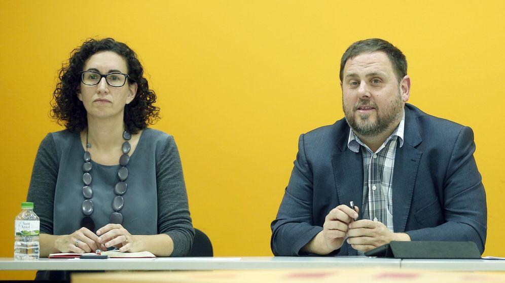 Foto: Fotografía de archivo de Oriol Junqueras y Marta Rovira. (EFE)