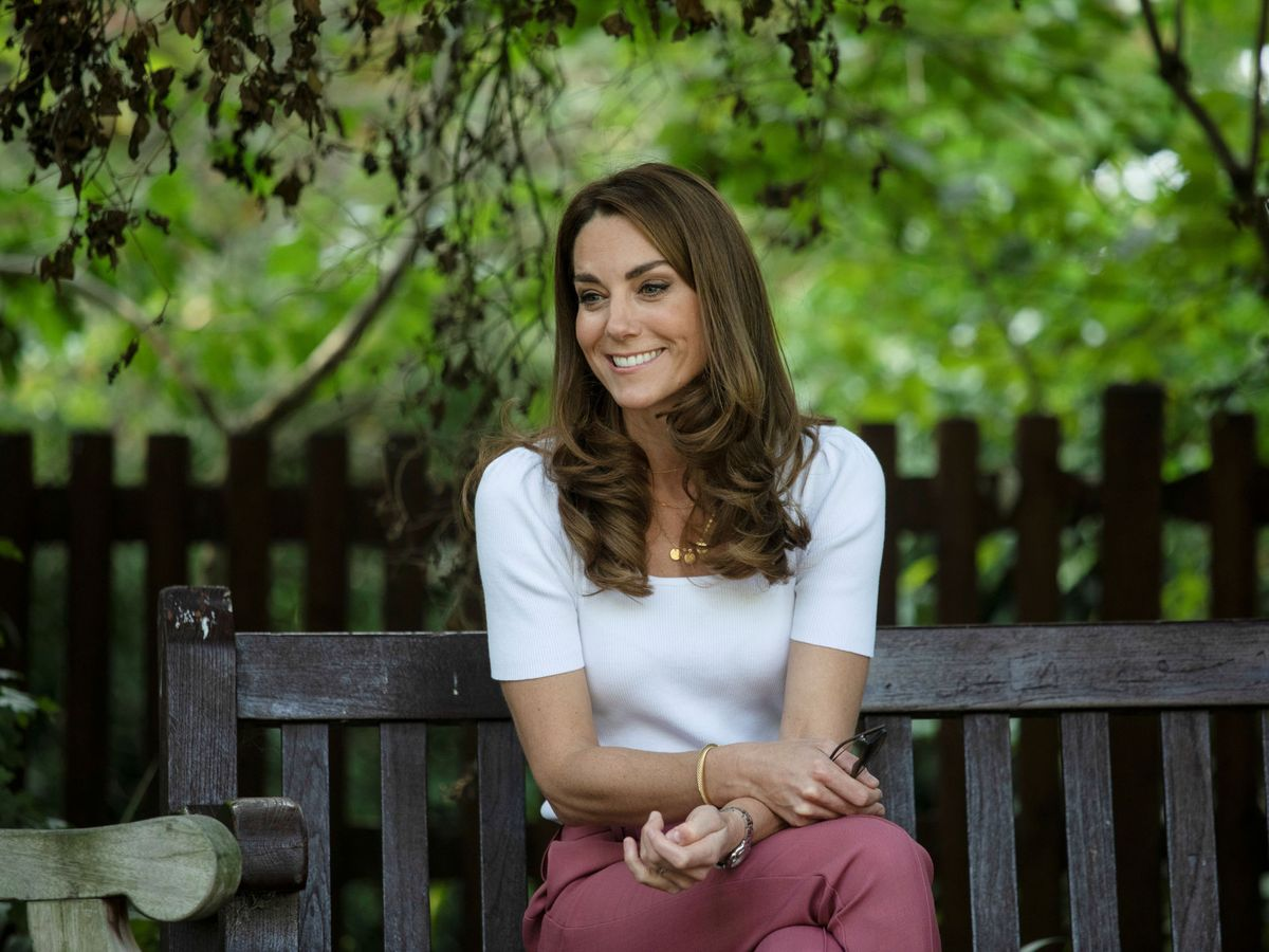 Foto: Kate Middleton, este martes en Londres. (Reuters)