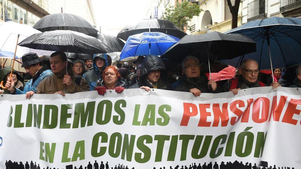 Foto: Manifestación de pensionistas