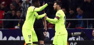Post de Ahora todos abrazan a Dembélé, que no es el problema del Barça, sino una solución