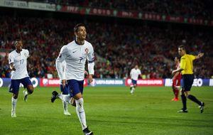 Cristiano Ronaldo salva a Portugal y Alemania no abusa de Gibraltar