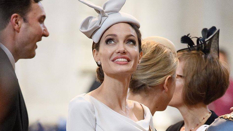 Angelina Jolie, clienta habitual de David Colbert. (Getty)