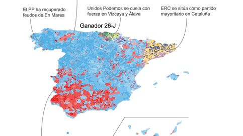 La ilusión cambió de bando el 26-J: la movilización amplió el triunfo de Rajoy