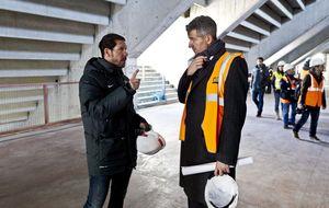 Simeone le deja claro a Gil Marín que está encima de la planificación