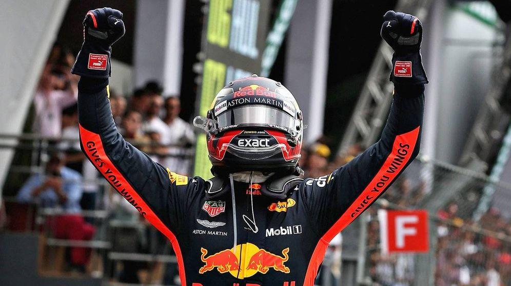 Foto: Verstappen no tuvo rival en el GP de México. (Twitter: @redbullracing)