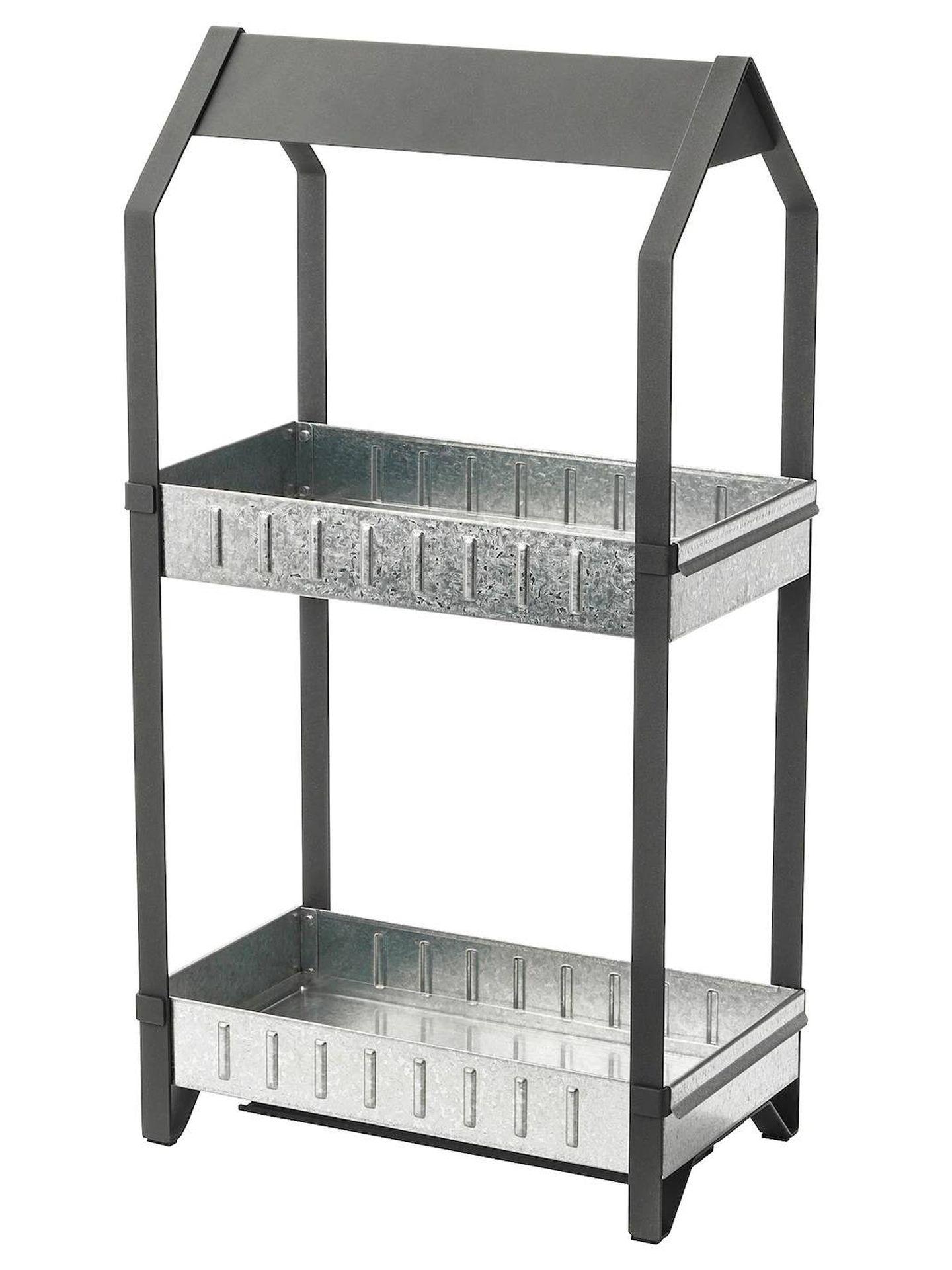Opta por un huerto vertical gracias a estas opciones de Ikea. (Cortesía)