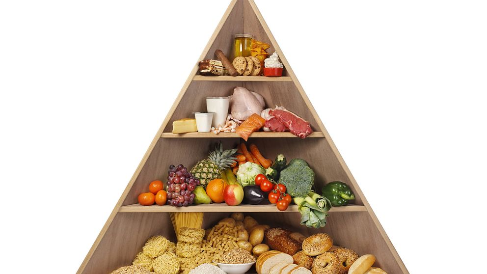 ¿Es correcto seguir la pirámide alimentaria tradicional?