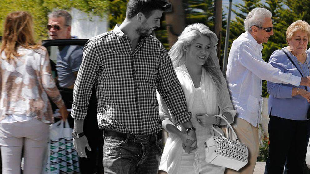 Cónclave de las familias de Shakira y Piqué en pleno huracán por su supuesta crisis