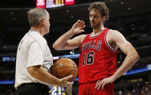 Pau se vuelve a convertir en la clave de Chicago Bulls, pero Marc no encuentra el camino