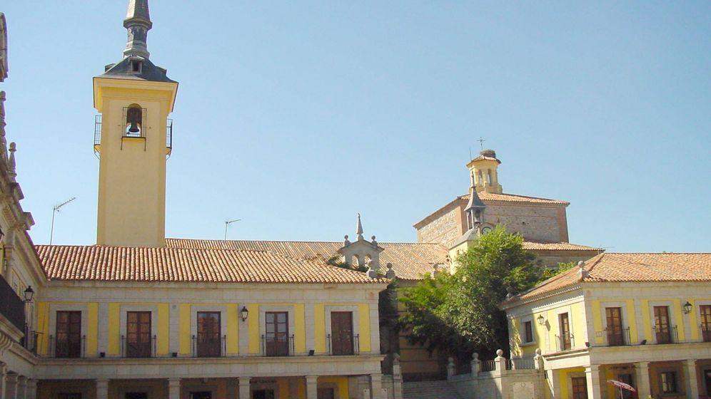 Foto: Plaza Mayor de Brunete. (Dirección General de Turismo)
