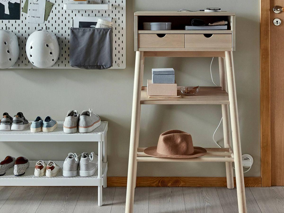 Foto: Escritorio multiusos de Ikea. (Cortesía)