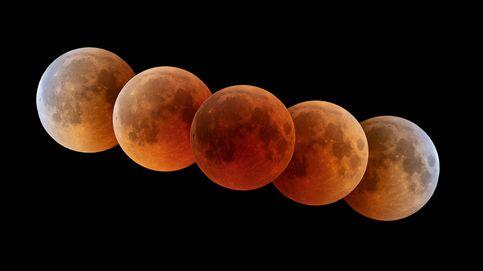 Eclipse lunar en directo: así se ha visto la superluna roja esta madrugada