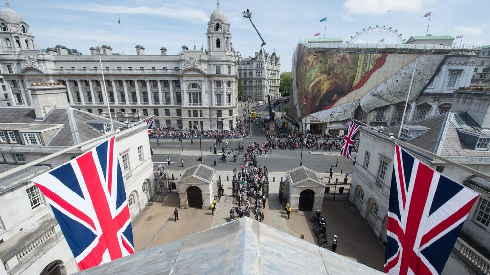 Foto: Vista de Whitehall desde un edificio militar en Londres, en mayo de 2015. (Reuters)