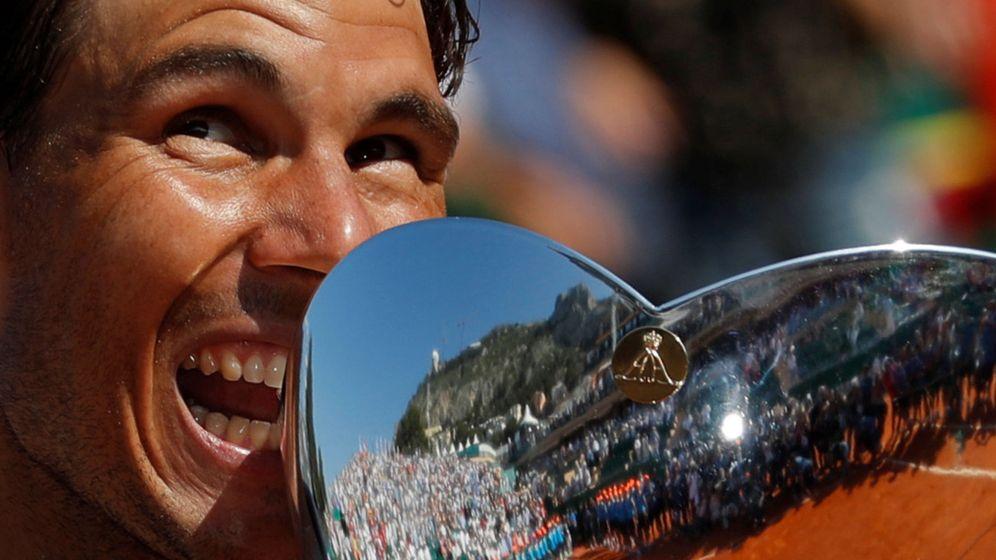 Foto: Nadal, con su undécimo torneo en Montecarlo. (EFE)