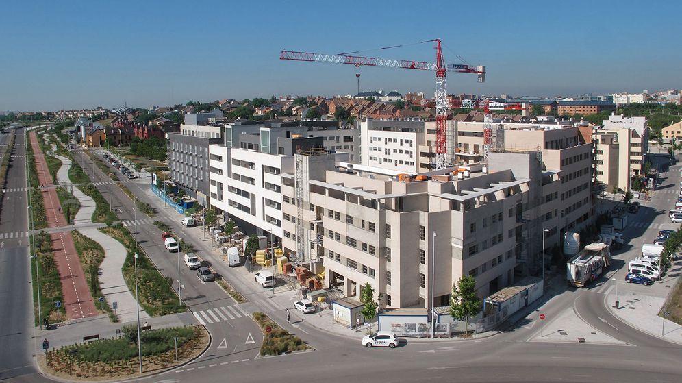 Foto: Valdebebas, el desarrollo inmobiliario más potente del norte de Madrid.