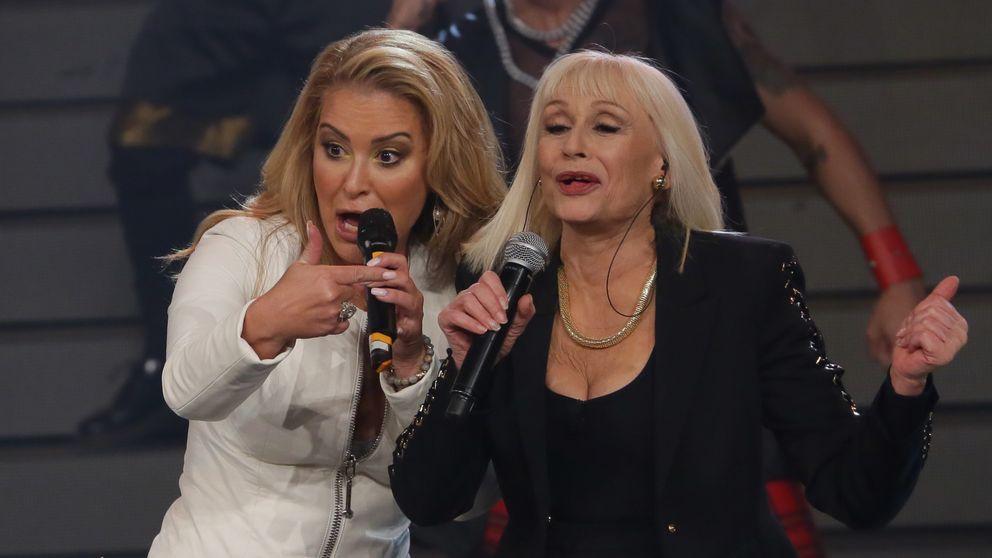 Anastacia y Raffaella Carra, un dueto algo peculiar