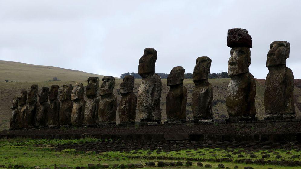 Foto: La última teoría sobre el misterio de la isla de Pascua: la cultura local no colapsó. (EFE)