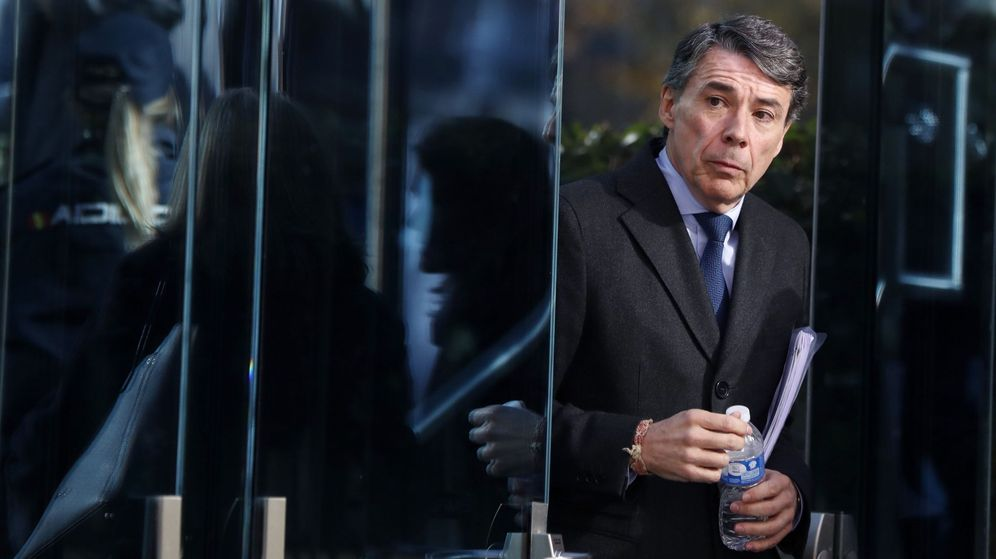 Foto: Ignacio González, en la Audiencia Nacional.
