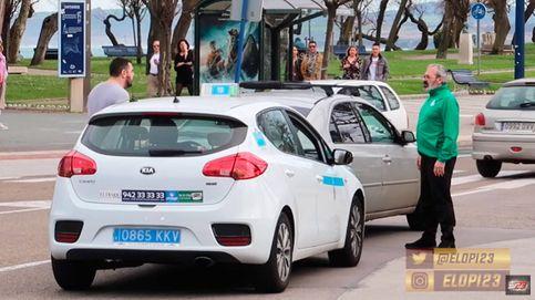 Un taxista y un hincha del Racing se rompen los coches en una pelea