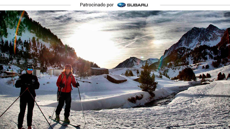Foto: Esquí de fondo en Benasque