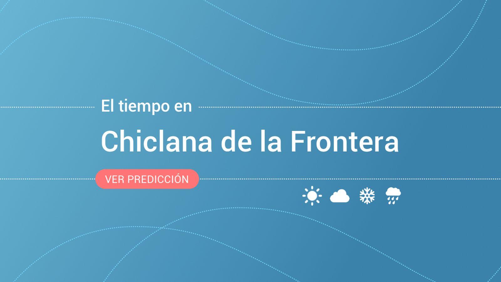Foto: El tiempo en Chiclana de la Frontera. (EC)