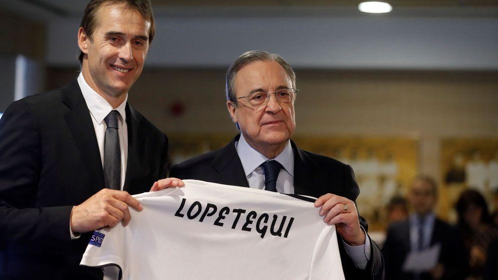 El Real Madrid que Florentino Pérez planifica para Julen Lopetegui