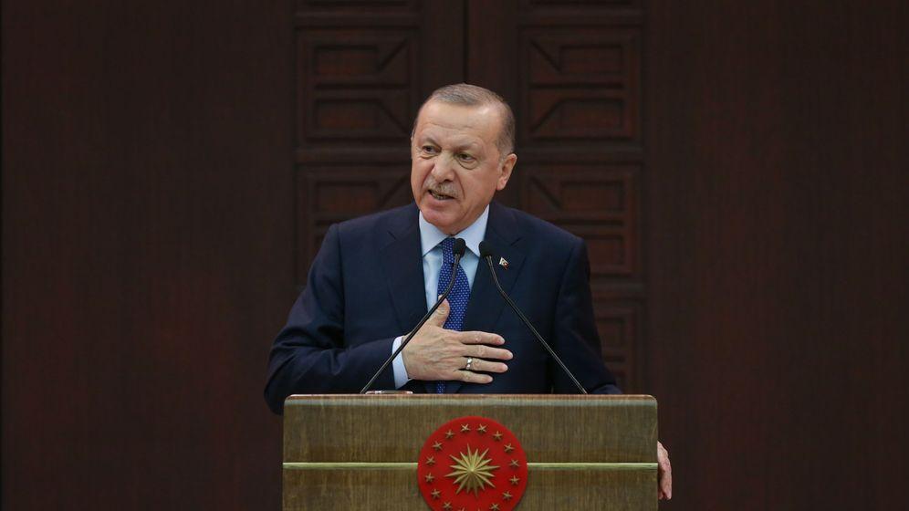 Foto: El primer mi istro turco, Recep Tayyip Erdogan. (EFE)