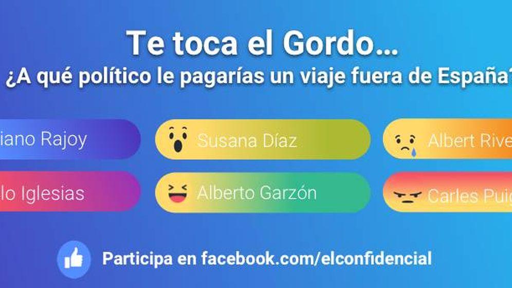 Foto: Encuesta sobre la Lotería en el Facebook de El Confidencial
