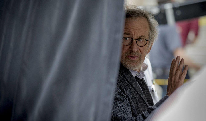 Foto: Steven Spielberg en el rodaje de un filme EN 2014 (REUTERS)