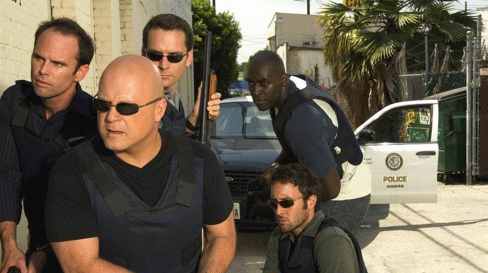 Foto: Michale Chiklis, al frente de la unidad protagonista de 'The Shield'.