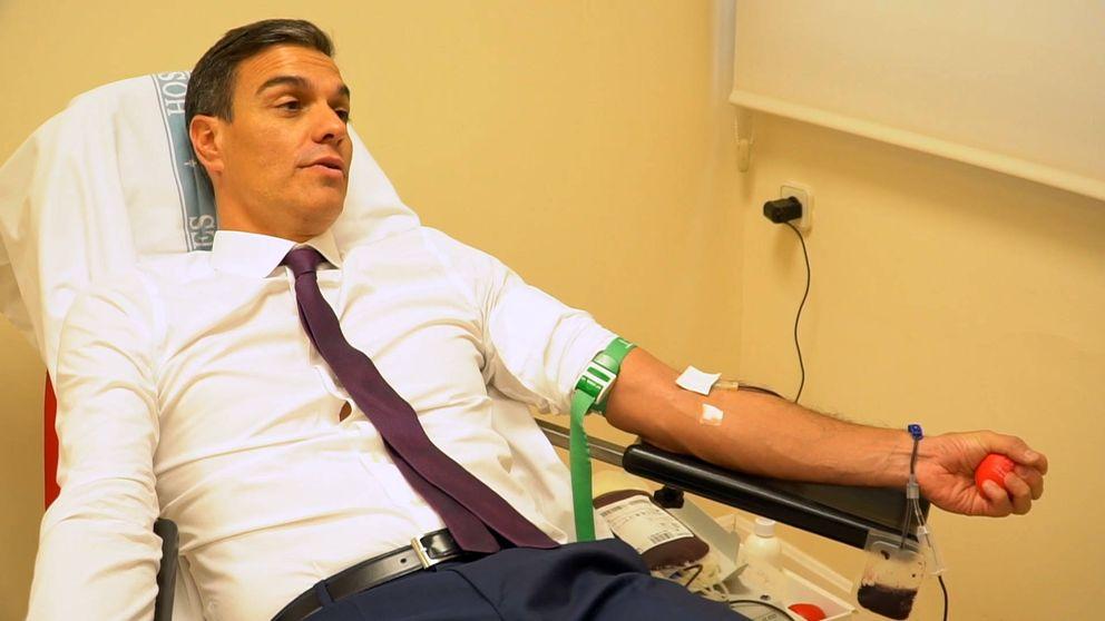 No, la donación de sangre de Pedro Sánchez no se ha saltado ninguna norma sanitaria