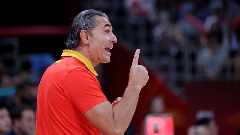Sergio Scariolo, en China. (Reuters)